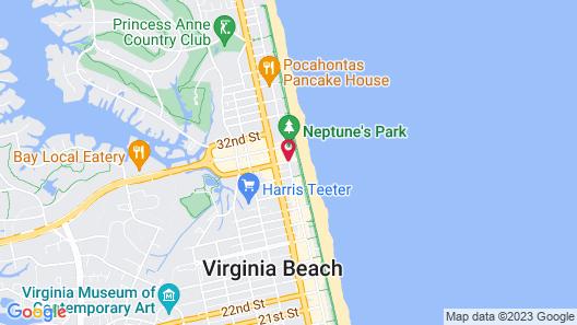Hilton Virginia Beach Oceanfront Map