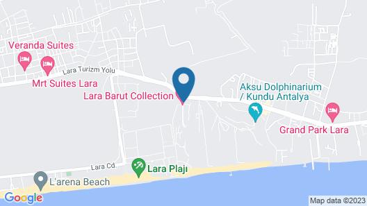 Nirvana Cosmopolitan - All Inclusive Map