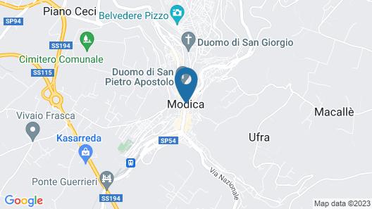 Si-Moutique Case Degli Avi Map