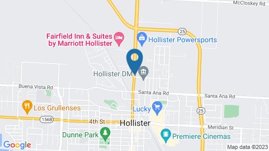 Hollister Inn Map