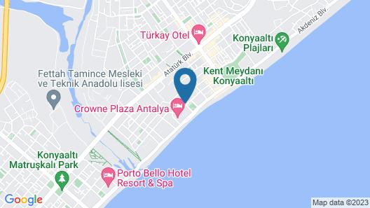 Golden Orange Hotel Map