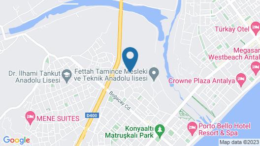 Melda Palace Map