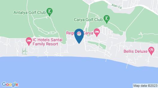 Hotel Kaya Belek - All Inclusive Map