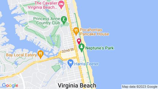 Hilton Garden Inn Virginia Beach Oceanfront Map