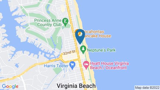 Oceanaire by Diamond Resorts Map