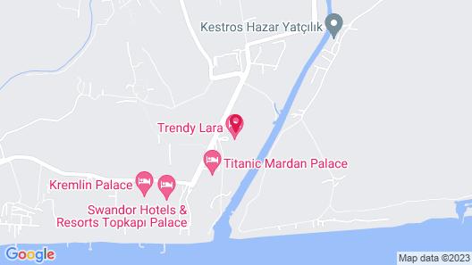 Trendy Lara Hotel Map