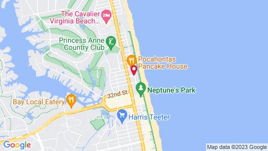 Ocean Beach Club by Diamond Resorts Map