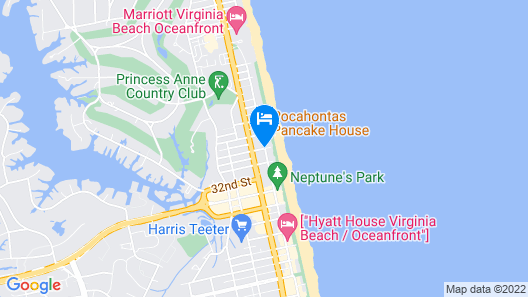 Ocean Beach Club by Diamond Resorts Map