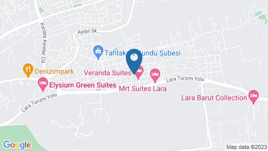 Veranda Beach Suites Map