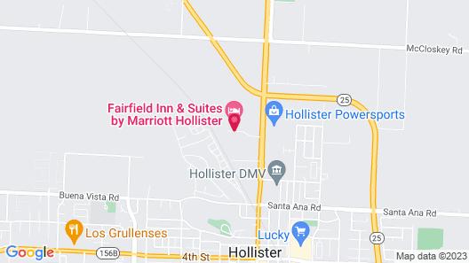 Fairfield Inn & Suites by Marriott Hollister Map