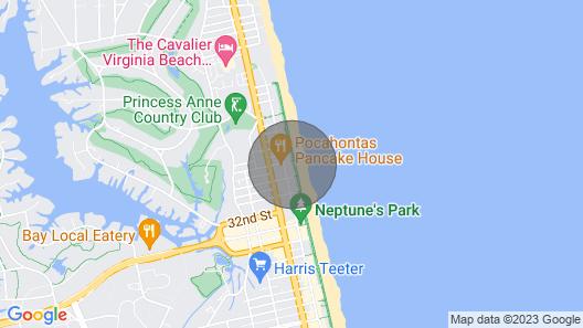 Beautiful Oceanfront 2 Bedroom Luxury Suite at Oceanaire Resort, Upscale Resort Map