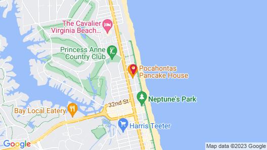 SureStay Hotel by Best Western Virginia Beach Royal Clipper Map