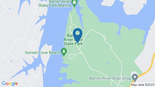 Barren River Lake State Resort Park Map