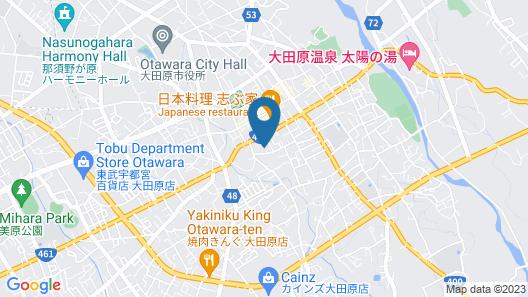 Pine's Onsen Hotel Otawara Map