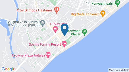 Anatolian Homes & Spa Map
