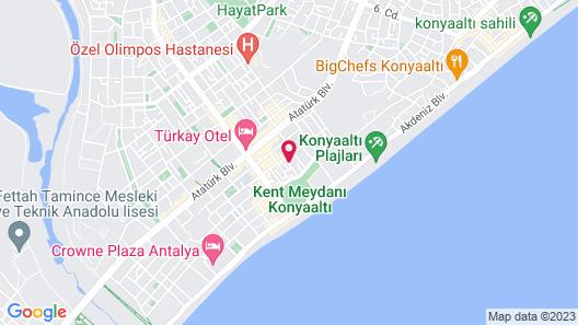 Kent Hotel Map