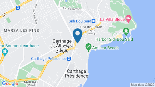 The Cliff House Map