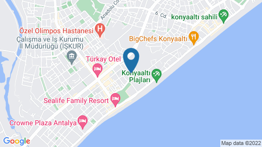 Mahper Hotel Map