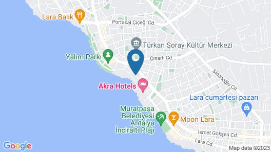 Adalia Hotel Map