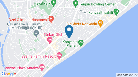 Antalya Suits Map