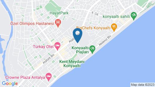 Akcahan Otel Map