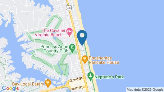 Holiday Inn & Suites Virginia Beach North Beach, an IHG Hotel Map