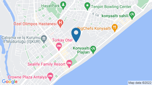 The Boutique's Hotel Map