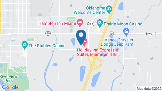 Holiday Inn Express & Suites Miami, an IHG Hotel Map