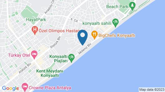 Camp&Hostel Nikapart Map