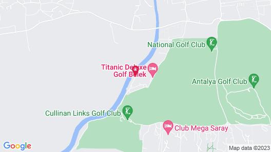 Titanic Deluxe Golf Belek Map