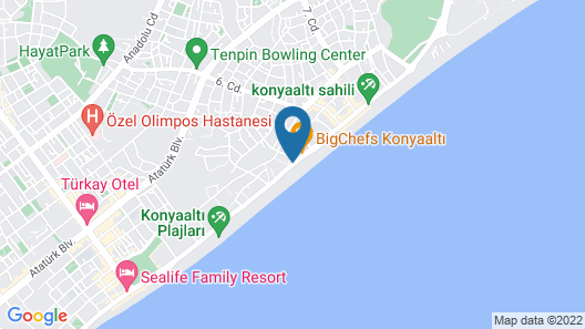 Volkii Hotel Map