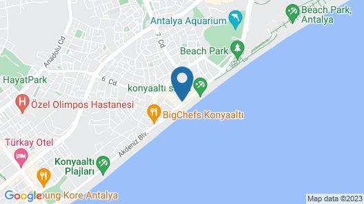 Pacco Sea & City Hotel Spa Map