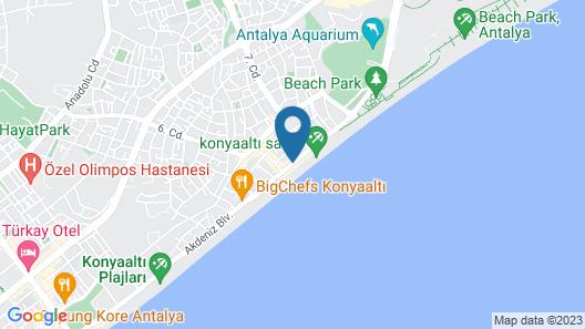 Blue Garden Hotel Map