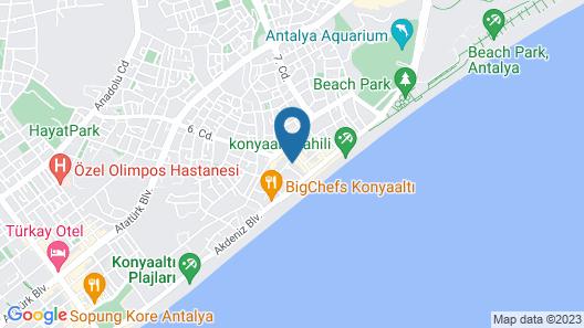 Yelken Apart Hotel Map
