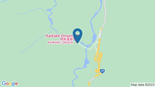 Kaikake Onsen Map