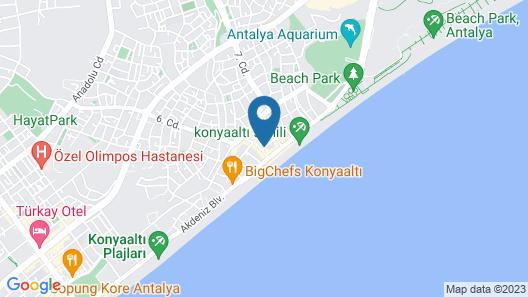 Hotel Royal Hill Map