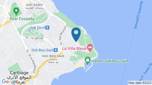 Les Jardins Du Phare De Sidi Bou Said Map