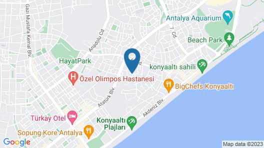 Stile Suite Hotel Map