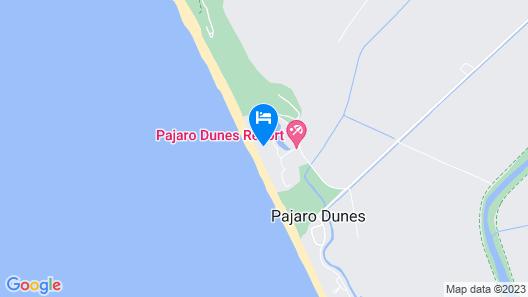 New Listing! Beachfront Pajaro Dunes Penthouse 1 Bedroom Condo Map