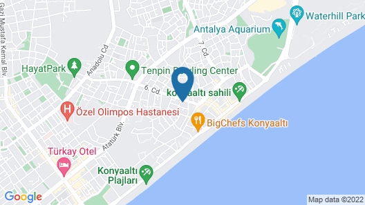 Niss Business Hotel Map