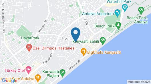 Afsin Hotel Map