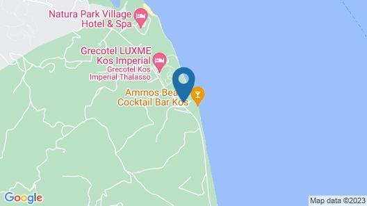 Oceanis Beach & Spa Resort Map