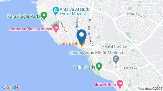 Prime Hotel Map