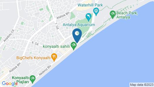 Olbia Hotel Map