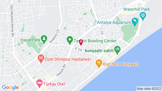 Ale Apartments Hotel Map
