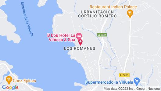 Hotel La Viñuela Map