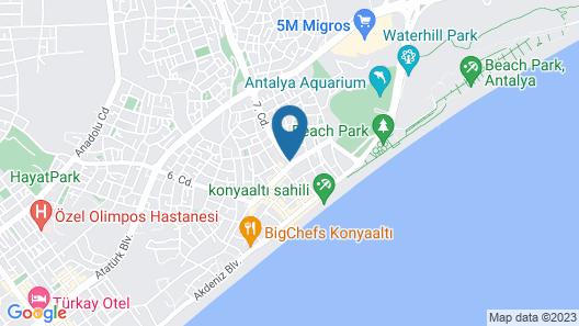 Sealife Lounge Map