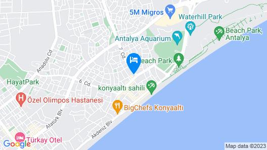 Sirena Apart & SPA Map