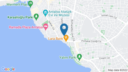 Triana Hotel Map