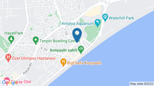 Lemon Hotel Map
